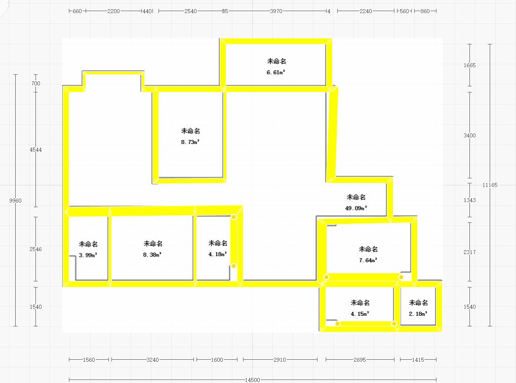 为什么导CAD按足要求墙都是错的